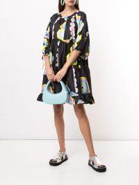 Cynthia Rowley Penelope blossom print dress | vintage look prints