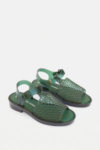 Melissa X Opening Ceremony Hatch Green Sandals
