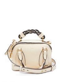 CHLOÉ Daria small cream-leather shoulder bag