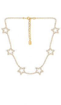 Elizabeth Cole Lively Necklace | crystal embellished necklaces