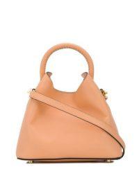 ELLEME Baozi shoulder bag salmon pink ~ small luxe handbags
