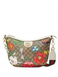 GUCCI GG Flora shoulder bag / multicoloured bags / flower and insect prints