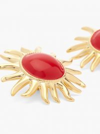 AURÉLIE BIDERMANN Hélios sun clip earrings