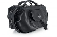 Forzieri – ICE PLAY Black Front Zip Tote