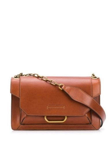 ISABEL MARANT Skamy shoulder bag cognac brown