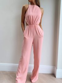 PRETTY LAVISH JOURDAN CUT OUT JUMPSUIT