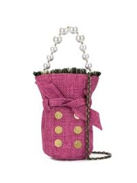 Kooreloo mini tweed bucket bag