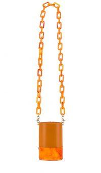 Lele Sadoughi Petite Dallas Bag Apricot