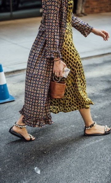 Mixed prints / street style outfits - flipped