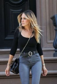 Sarah Jessica Parker casual street style ~ SJP