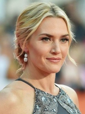 Kate Winslet's red carpet hair & make-up - flipped