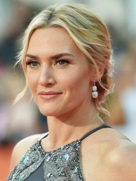 Kate Winslet's red carpet hair & make-up