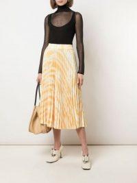 PROENZA SCHOULER WHITE LABEL pleated tie-dye skirt