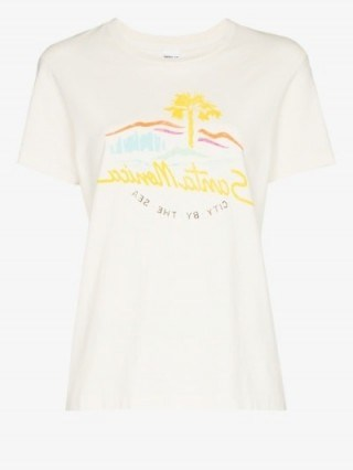 RE/DONE City By The Sea T-Shirt - flipped