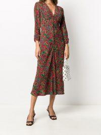 Rixo paisley print dress