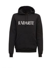RODARTE Rodarte-print fleeceback-jersey hooded sweatshirt