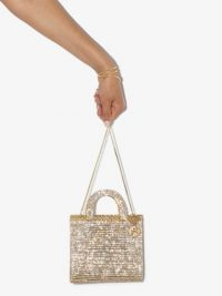 Rosantica Teodora cystal-embellished tote / small shimmering bags