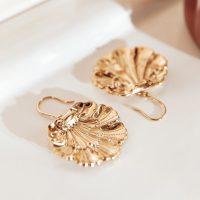 BALZAC PARIS X LA REDOUTE COLLECTIONS Shell Earrings in Gold Effect