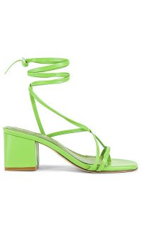 Song of Style Mango Sandal Lime Green