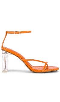 Song of Style Rey Heel Orange