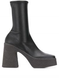 STELLA MCCARTNEY platform ankle boots | 70s look platforms