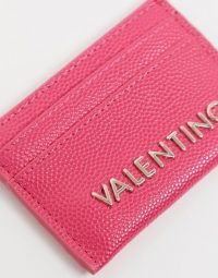 Valentino by Mario Valentino Exclusive card holder in pink