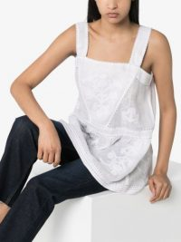 VITA KIN Daisy embroidered top ~ cool and feminine summer tops