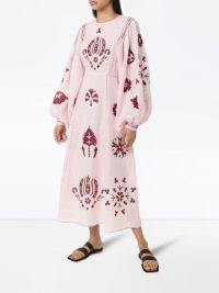 Vita Kin Jasmin embroidered kaftan dress
