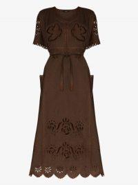 Vita Kin Love In The Air Linen Kaftan Dress