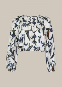 Whistles LIMITED EDITION SUBRINA PRINTED TOP