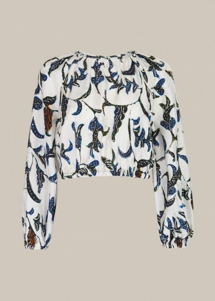 Whistles LIMITED EDITION SUBRINA PRINTED TOP - flipped