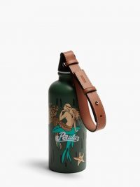 LOEWE PAULA'S IBIZA X SIGG Mermaid-print metal water bottle / green printed water bottles / mermaids