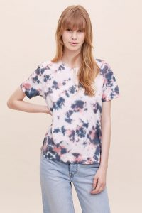 Sol Angeles Alessia Marbled Tie-Dye T-Shirt
