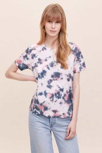 Sol Angeles Alessia Marbled Tie-Dye T-Shirt - flipped