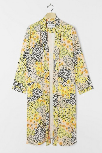 BB Dakota Adele Floral Duster Jacket