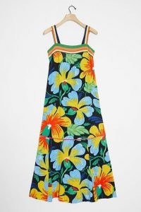 Maeve Nikoleta Maxi Dress / bold flower printed sundress