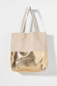 Anthropologie Lana Tote Bag | metallic leather bags