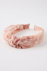 Anthropologie Frankie Pink Knotted Headband / headbands