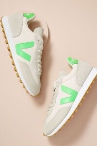 Veja Rio Branco 05 Trainers Lime / casual weekend shoes