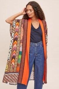 Bl-nk Loviana Duster Kimono / multi print kimonos