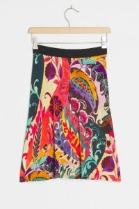 Aldomartins Knit Mini Skirt / colourful multi patterned skirts