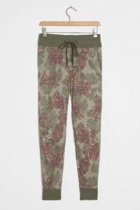 ANTHROPOLOGIE Kallie Joggers Moss / green drawstring jogging bottoms