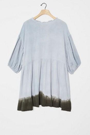 Current Air Dariya Dip-Dyed Tunic Dress - flipped