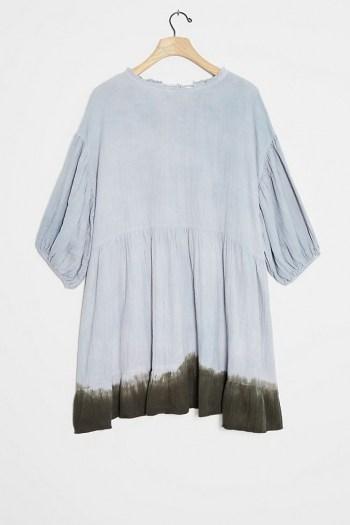 Current Air Dariya Dip-Dyed Tunic Dress