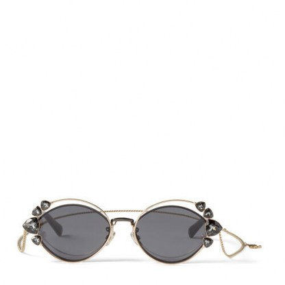 JIMMY CHOO Shine sunglasses | crystal embellished eyewear