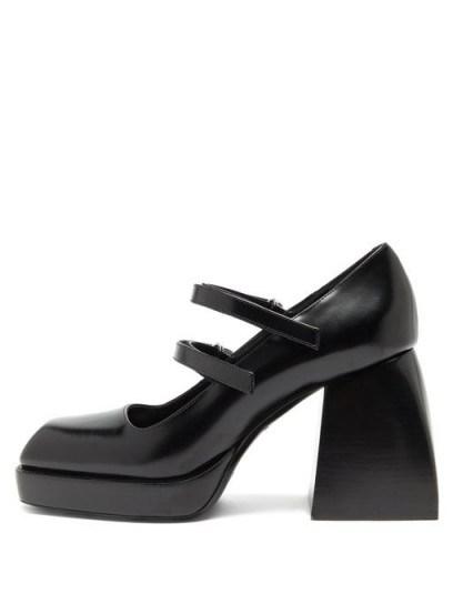 Chunky mary janes / NODALETO Bulla Babies platform high-heel Mary-Jane sandals - flipped