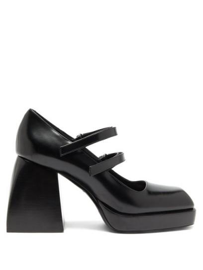 Chunky mary janes / NODALETO Bulla Babies platform high-heel Mary-Jane sandals