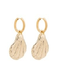 By Alona 18kt gold-plated Brigitte shell earrings / charm drops / shells