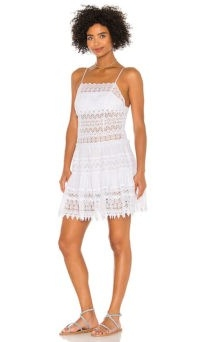 Charo Ruiz Ibiza Joya Dress | white strappy sundress