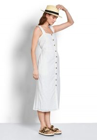 hush Cossura Broderie Dress / need to have white sundress
